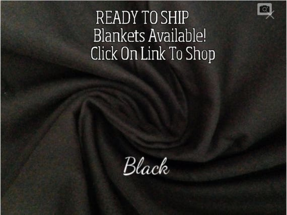 Solid Color, Weighted Blanket, Black, Up to Twin Size 3 to 15 Pounds.  SPD, Autism, Weighted Blanket.