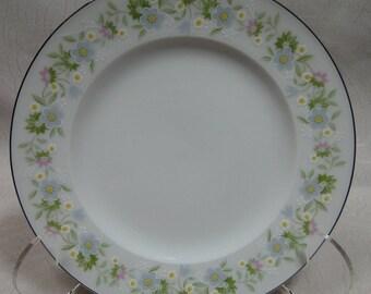 """Johann Haviland Bavaria Forever Spring Bread Plate 6"""" EXCELLENT!"""
