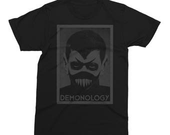 Demonology Black on Black T-Shirt