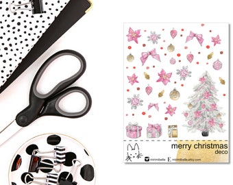 Merry Chrsitmas ADD-ON Deco Sticker!