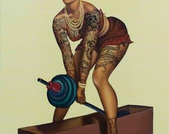 Pammi The Pehlwaan (2017) - Fine Art Giclee Print