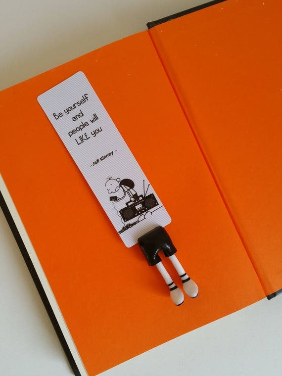 Diary of a wimpy kid bookmark greg heffley bookmark perfect like this item solutioingenieria