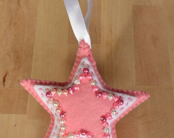 Decorative Star with Beaded Detail