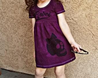 Rebel Girl (Acid wash dress)
