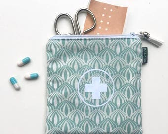 Travel first aid kit first aid pouch first aid bag medical travel bag medical travel pouch emergency kit emergency bag medicine bag byMlous