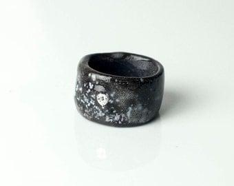 Porcelain Ring, Ceramic Ring, Ceramic Jewelry, Handmade Porcelain, Porcelain Jewelry, Handmade Ring, Unique Ring, Rings For Women,