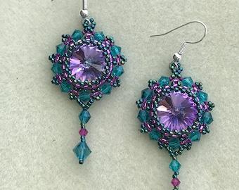 Swarovski Chandelier Earrings