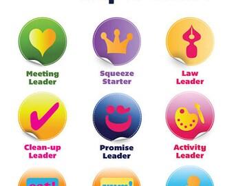 Girl Scouts Custom Kaper Chart iamgirlscouts