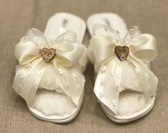 Bride, Bridesmaid  Slippers