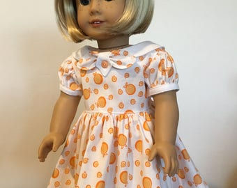 Vintage Style School Dress fits American Girl Dolls