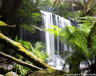 Landscape Photography, Waterfall Photo, Waterfall Photography, Digital Download, Landscape Print, Waterfall Print, Nature Photography