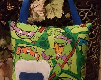Ninja Turtles Inspired Tooth Fairy Pillow
