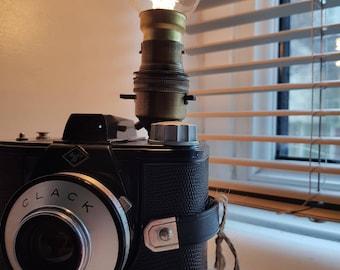 Vintage 1950's Agfa Clack Camera Lamp (Similar to Ilford Envoy)