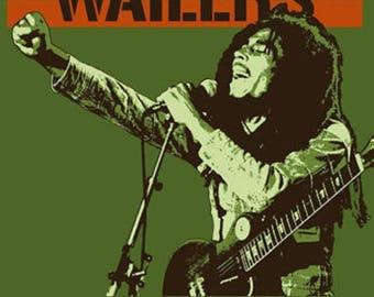 Bob Marley Poster A3 or A4 Matt