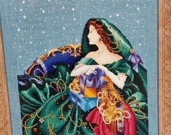 Christmas Elegance by Mirabilia designed by Nora Corbett for counted cross stitch