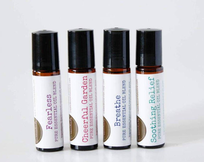 Featured listing image: Essential Oil Roll-On Blends 10 ml