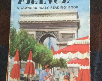 Vintage Ladybird Book - Come To France