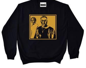 e5482d4a70ac0b Menace II Society - Black Crewneck Sweatshirt To Match Retro Air Jordan 11  . ...
