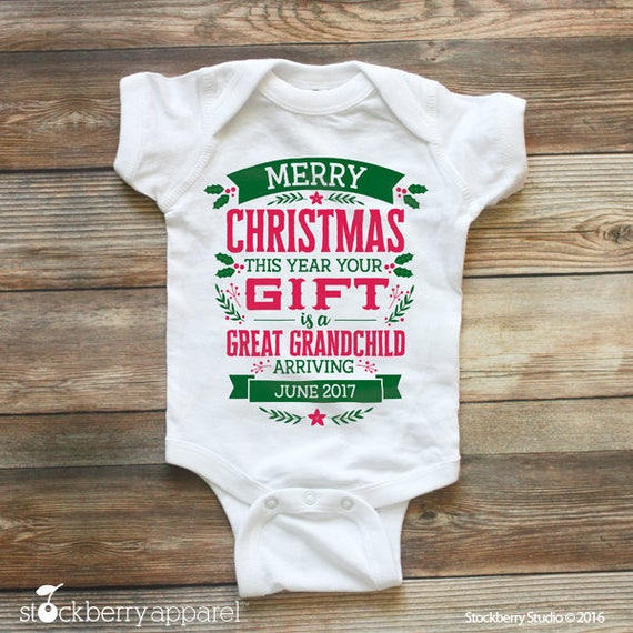 stockberry apparel – Grandparents Announcement Baby