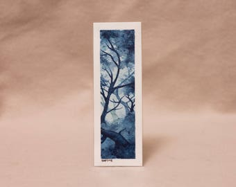 Blue Forest bookmark [ORIGINAL ART]