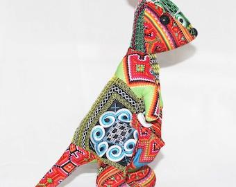 KANGAROO Stuffed Animal - Sewing stuffed - Handmade stuffed animal