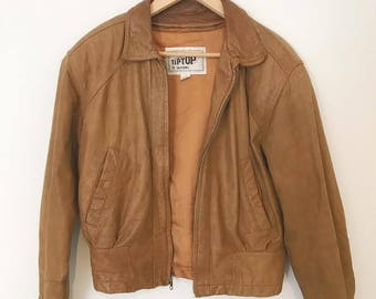 Tip Top of California Leather Jacket