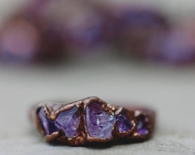 Amethyst Ring // February Birthstone