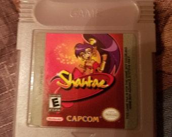 Shantae Game Boy Color GBC Custom English