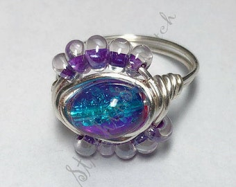 Silver Boho Ring