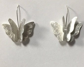 Sterling Silver 3 Dimensional Butterfly