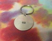 Equality Keychain - Equal - LGBTQ Keychain - Pansexual Keychain - LGBT Keychain - Equality Jewelry - Queer Jewelry