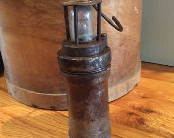 Arras industrial coal minor lamp or ship lantern