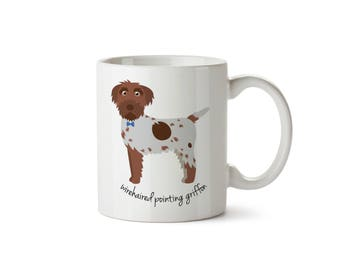 Wirehaired Pointing Griffon Mug (boy)