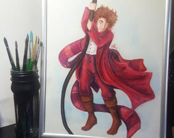 Logopolis - Doctor Who Painting