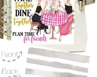 LADIES WHO LUNCH, Southern Lady Magazine Cover, Social Girls, Southern Girls Planner Dashboard, Stylish Planners, Country Club, Garden Club