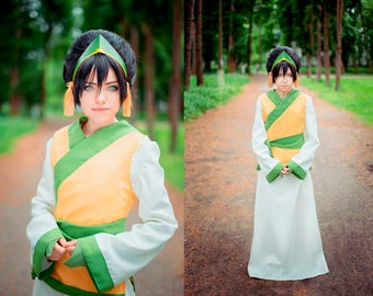 Avatar: The Last Airbender - Toph Beifong cosplay costume