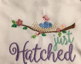 Just Hatched Embroidered Outfit