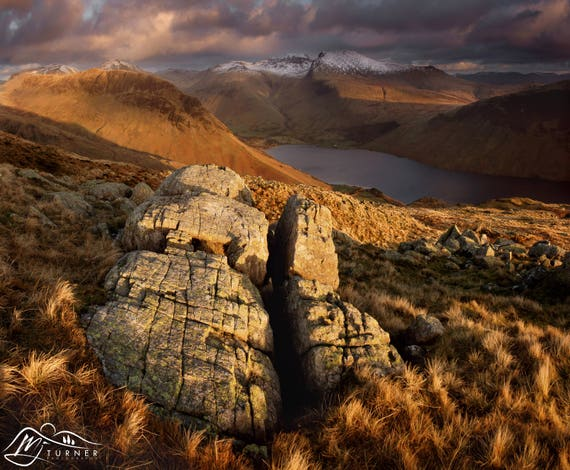 Scafell Pike from Middle Fell [Photographic Print]
