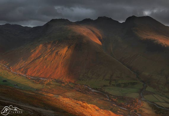 Scafell Pike & Scafell above Wasdale [Photographic Print]