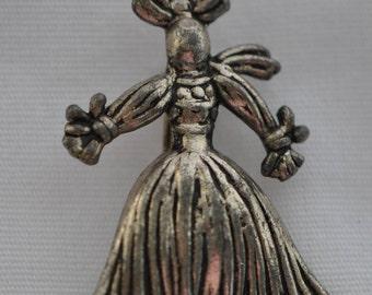 Vintage Rag Doll Brooch