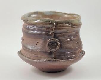 Woodgrain Teacup Yunomi