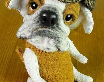 English bulldog Teddy bear Teddy dog Teddy friends Plush dog Gifts FREE SHIPPING Realistic stuff animal Animalistic gifts Art toy Gifts