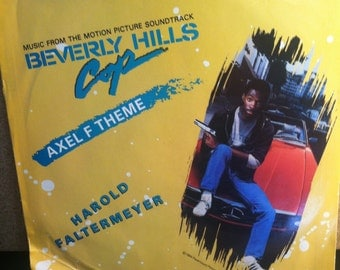 Beverly Hills Cop Axel F Theme Vinyl Picture Sleeve 45 rpm Record