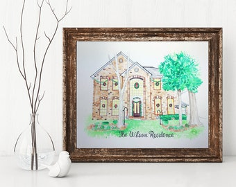Charming House Portraits
