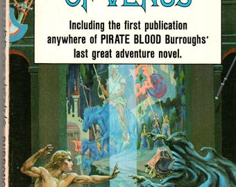 Edgar Rice Burroughs The Wizard of Venus Ace Paperback Science Fiction Book 1970