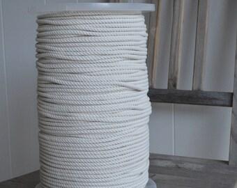 Cotton rope 4mm X 220m - 3 strand