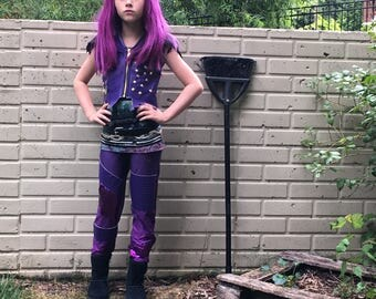Descendants Mal Halloween Costume for Girls and Adults