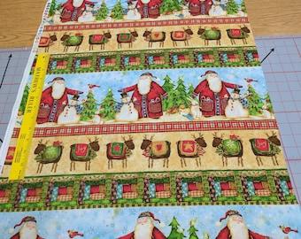 Santa's Journey Cotton Fabric from SPX Fabrics