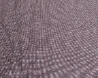 Dit Dot Flannel-Cocoa-Cotton Flannel Fabric from In the Beginning Fabrics