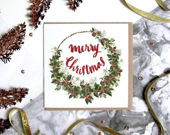 Merry Christmas - Christmas Card